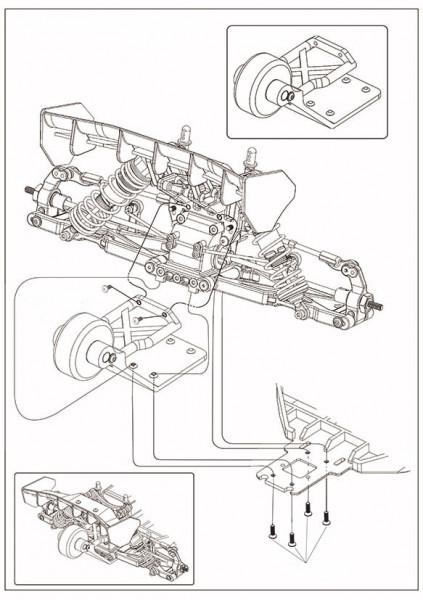 MODSTER V2/V3/V4/Evolution: Wheeliebar Set