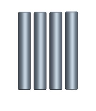 MODSTER Mini Cito: Radmitnehmerpins (4)