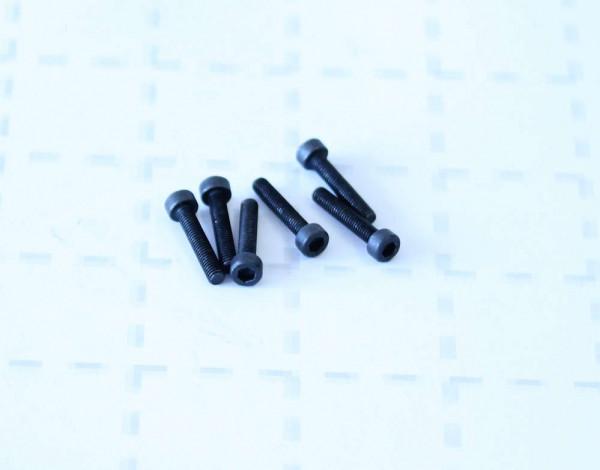 MODSTER Trembler: Zylinderkopfschrauben 3x16 (6)