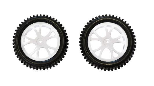 MODSTER Reifen/Felgen 1/10 Buggy vorne 2 Stück