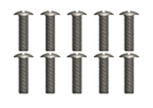 MODSTER Mini Cito: Linsenkopfschrauben M2.6x10 (10)