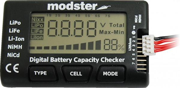 MODSTER LiPo Checker - Digitaler Akku / Batterie Tester