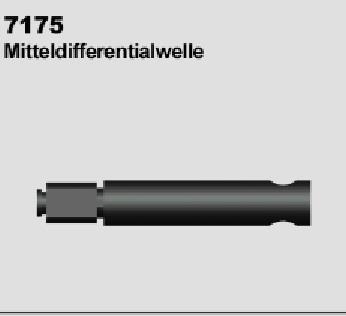 MODSTER Trembler: Differentialwelle (2)