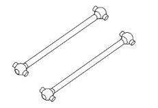 MODSTER Dune Racer/Truggy: Antriebswellen hinten (2)