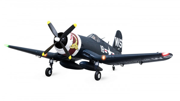 Arrows F4U Corsair 1100mm Elektromotor Warbird PUP powered by MODSTER