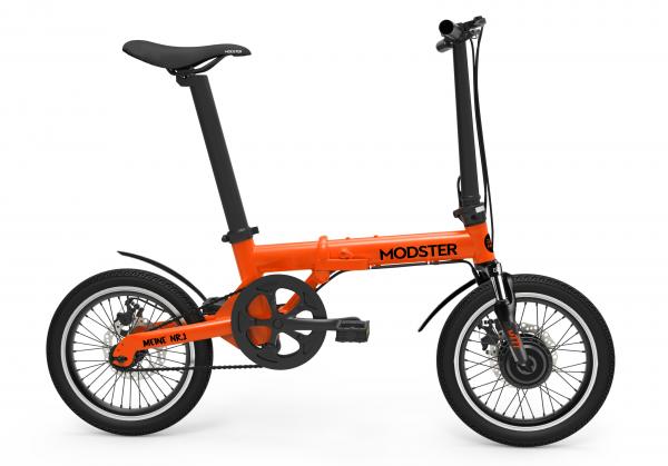MODSTER M777 e-Bike (Elektrofahrrad) 16 Zoll orange