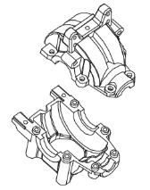 MODSTER Dune Racer/Truggy: Differential Getriebebox