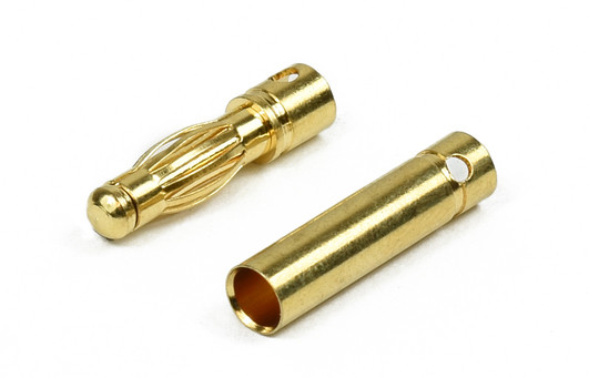 Goldkontaktstecker 4mm 1 Paar