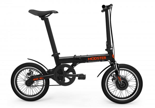 MODSTER M777 e-Bike (Elektrofahrrad) 16 Zoll schwarz