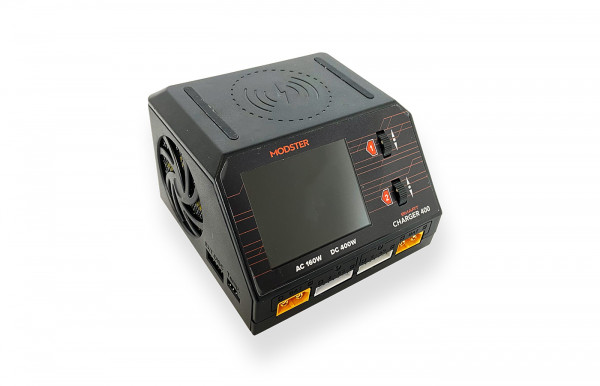 Ladegerät AC/DC Modster Smart Duo Charger 400W 10A 2x6S Lipo mit