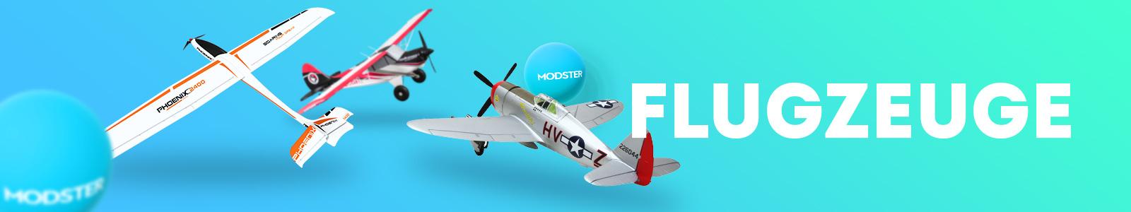 Modster-Flugmodelle-RC-Modellsport-Modellbau-Flugmodell-Radio-Control-Ferngesteuert