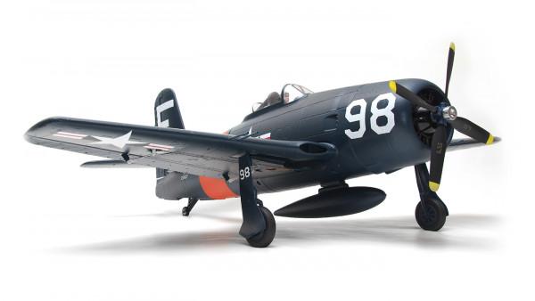 Arrows Grumman F8F Bearcat 1100mm Elektromotor Warbird PUP powered by MODSTER