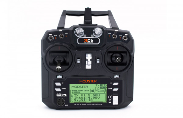 SET MODSTER XC6 6-Kanal Fernsteuerung inkl. MODSTER MR6 Empfänger
