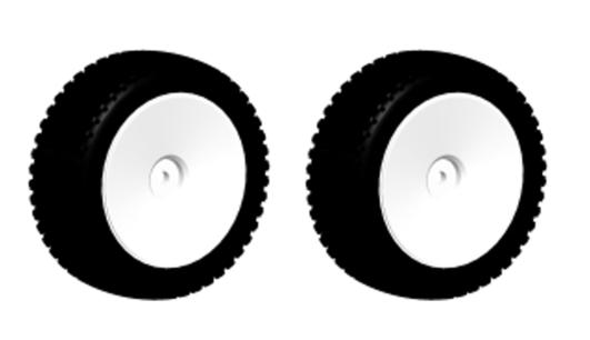 MODSTER Mini Cito: Reifen/Felgen vorne (2)
